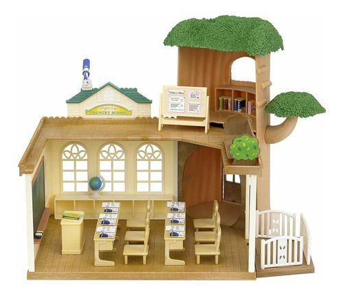 Brinquedo Sylvanian Families Escola Na Arvore Epoch 5105