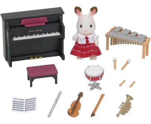 Sylvanian Families Conjunto Aula De Musica Epoch Magia 5106