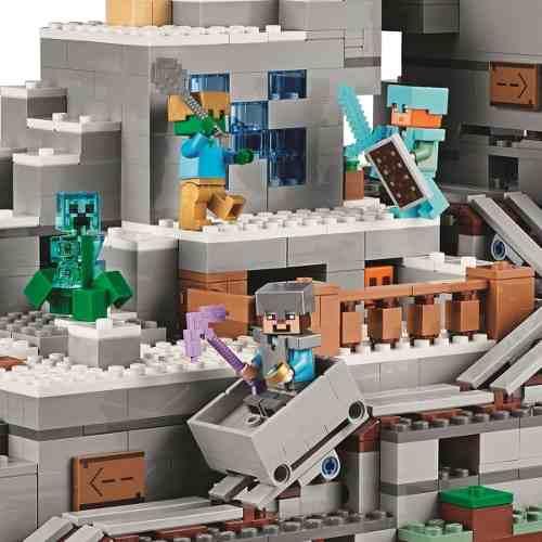Lego 21137 - Lego Minecraft - A Caverna Da Montanha Original