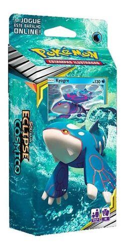 2 Deck Pokémon Groudon & Kyogre Sl12 Eclipse Cosmico - Copag