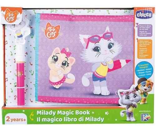 Toy 44 Cats Milady Magic Book Chicco - Livro Magico