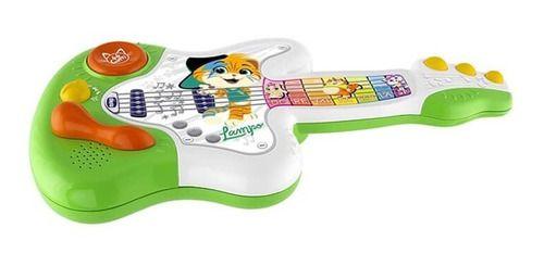 Brinquedo 44 Cats Intrumento Musical Guitarra Chicco