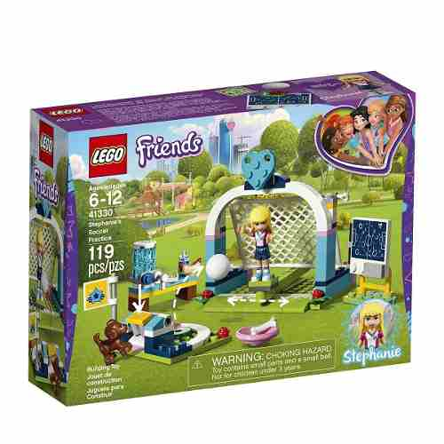 Lego Friends 41330 O Treino De Futebol Da Stephanie