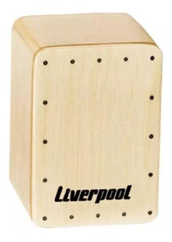 Mini Cajon Shaker Liverpool Sha Caj + Nfe Promoção