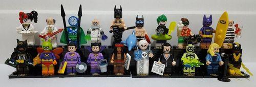 Set Completo Minifigures Batman Movie Series 2 71020