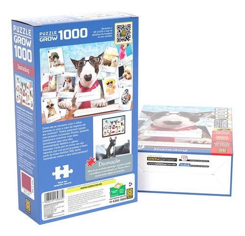Quebra-cabeça Puzzle P1000 Peças Instadog - Grow
