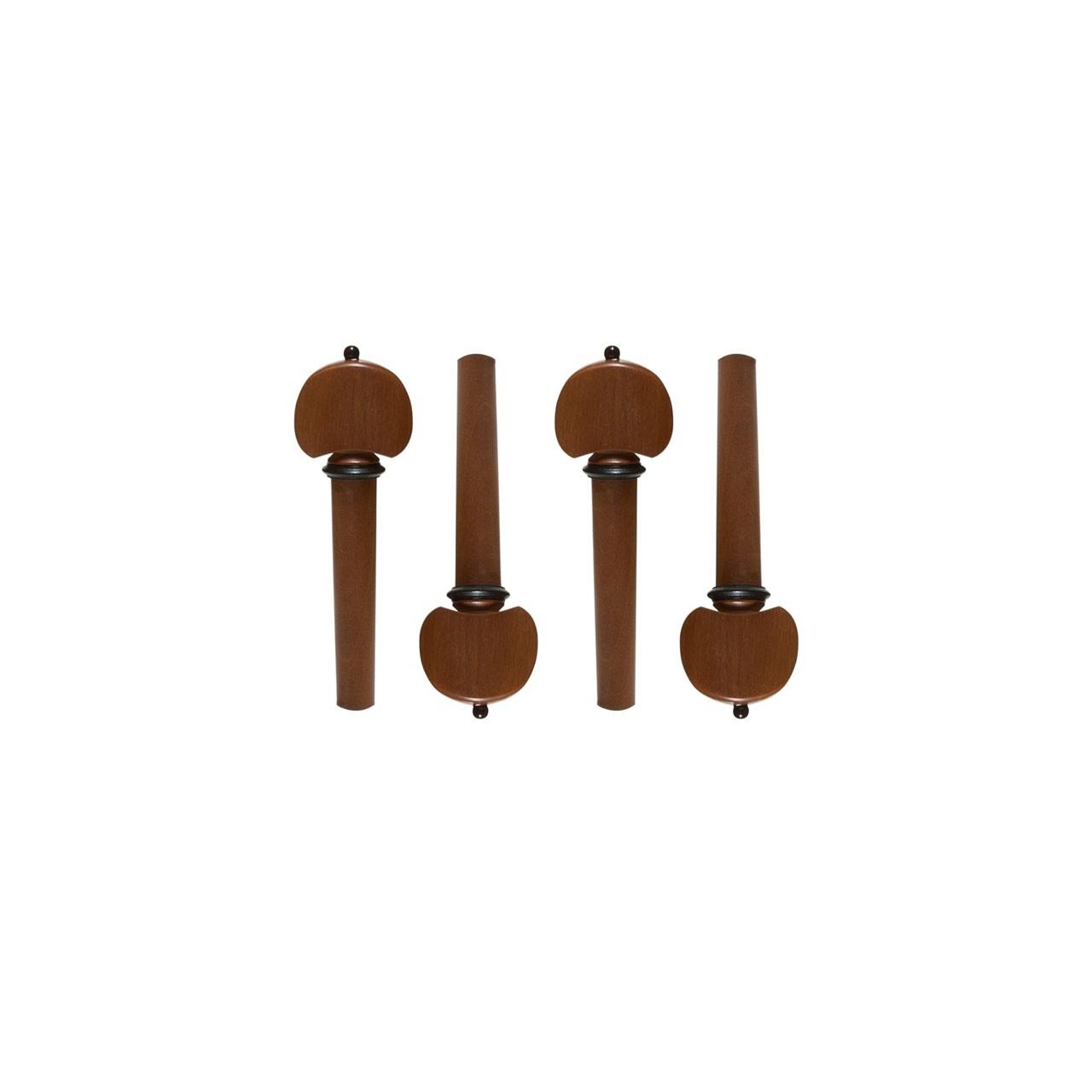 4 Cravelha Violino 4/4 BoxWood Hill Preto Dominante - 8338