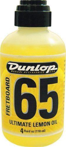 Limpador Fingerboard 01 P/ Escalas + Óleo De Limão 65 Dunlop