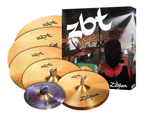 Kit De Pratos Zildjian Zbt 390 Super Pack Zbtp390
