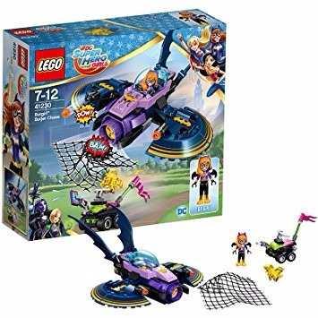 Lego 41230 Super Heroes A Perseguição Em Batjet De Batgirl