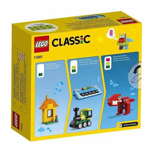 Lego 11001 Classic - Peças E Idéias 123 Peças Original
