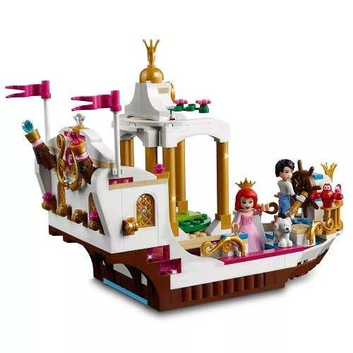 Lego Disney Princess 41153 Barco Celebração Real Ariel