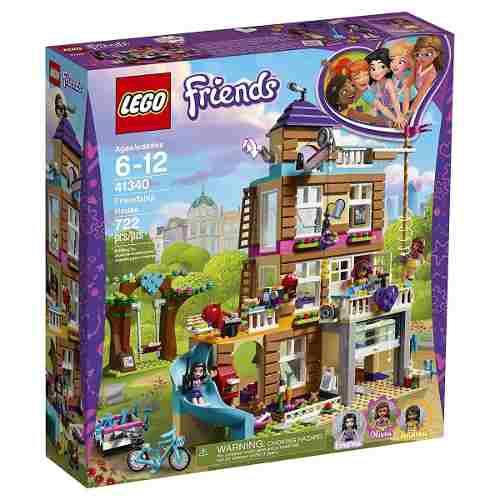 Lego Friends 41340 - Casa Da Amizade