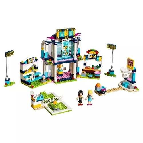 Lego Friends 41338 - A Arena De Esportes Da Stephanie