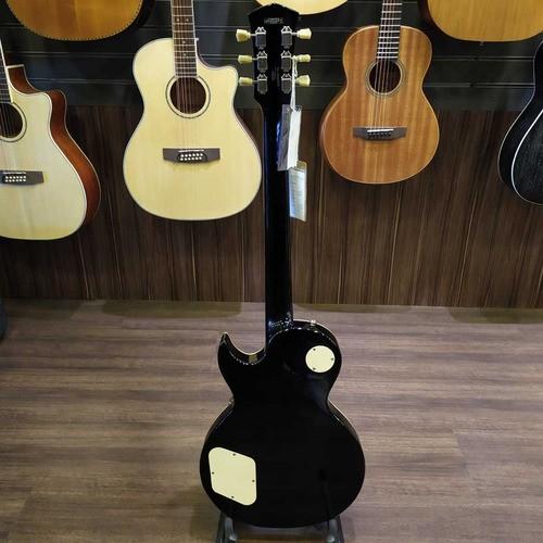 Les Paul Cort Classic Rock Cr250 Tbk Black Classico