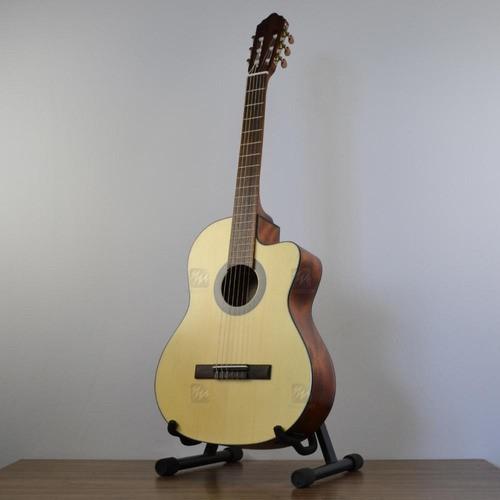 Violão Elétrico Cort Nylon Classico Cutway Ac 120ce Op