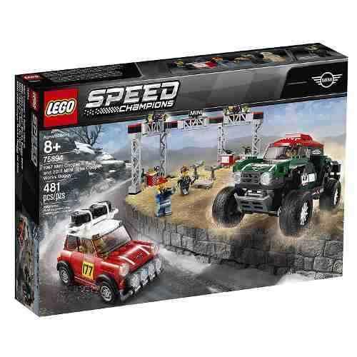 75894 Lego Speed Champions - 1967 Mini Cooper S Rally E 2018