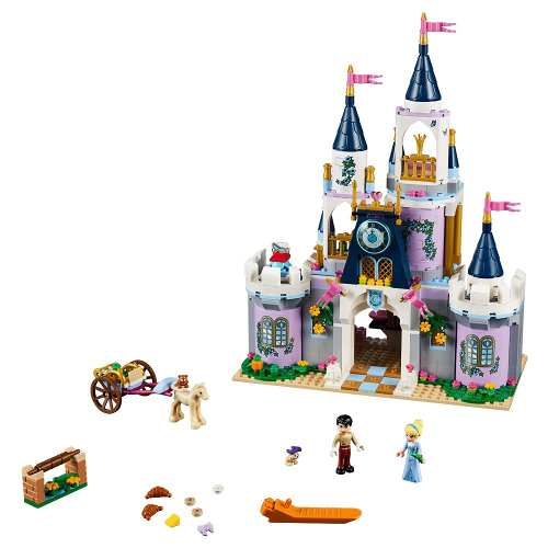 Lego Disney O Castelo Do Sonhos Da Cinderela 41154