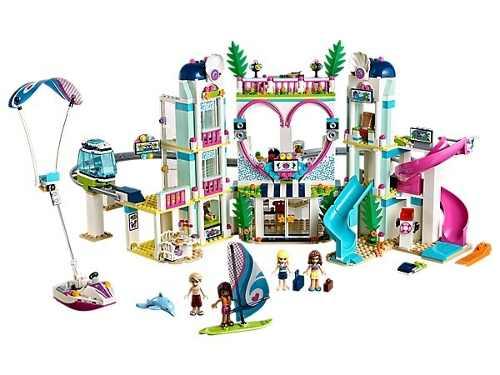 Lego Friends 41347 Resort Da Cidade De Heartlake Original