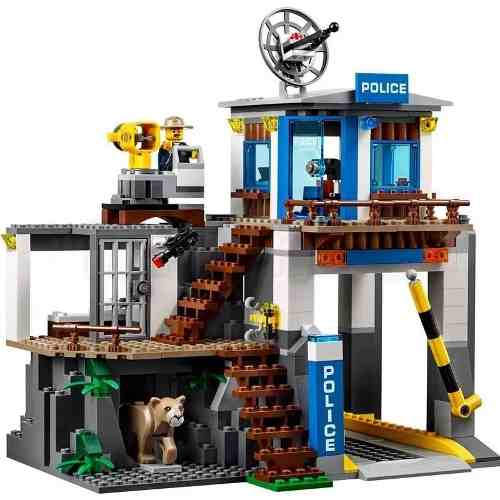 60174 Lego City Quartel general Da Polícia Na Montanha