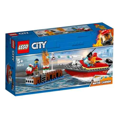 Lego City 60213 Incêndio Na Doca