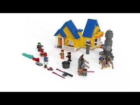 Lego Movie 2 Casa Dos Sonhos Emmet Foguete De Resgate 70831