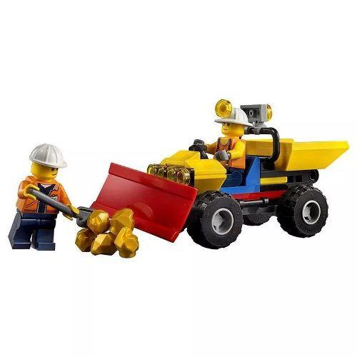 Lego City 60186 Perfuradora Pesada De Mineração