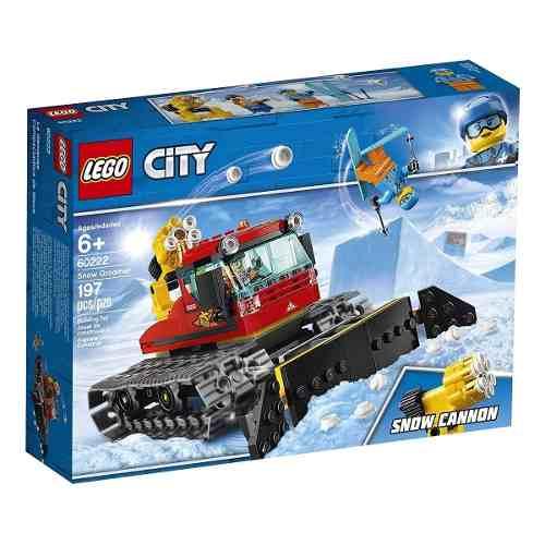 Lego City - Veículo Limpeza Da Neve - 60222 Lego