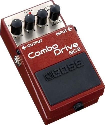 Pedal Para Guitarra Boss Bc2 Combo Drive Original