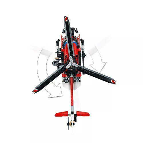 Lego 42092 Technic Helicóptero De Resgate