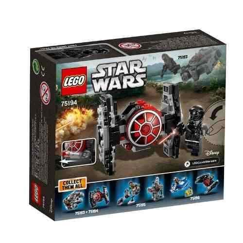 Lego 75194 Microfighter Caca Tie Da Primeira Ordem