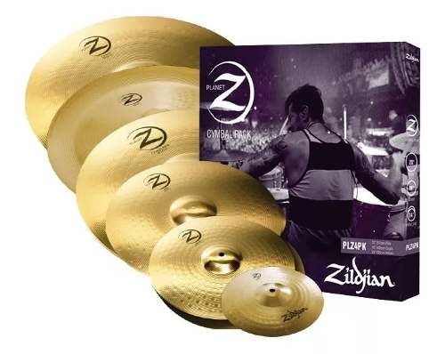 Kit Pratos Zildjian Planet Z Super Pack Plzsp 14 16 18 20 10