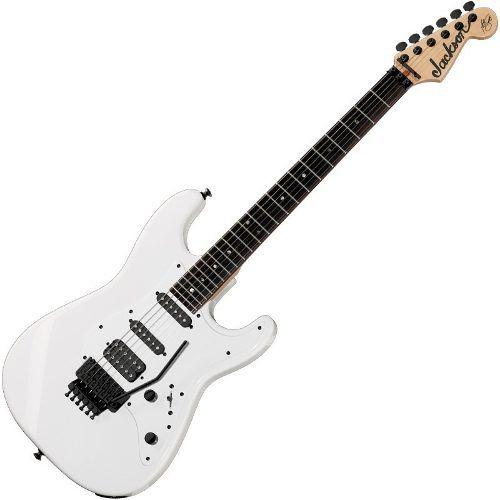 Guitarra Jackson Adrian Smith San Dimas Snow White Sdx 576