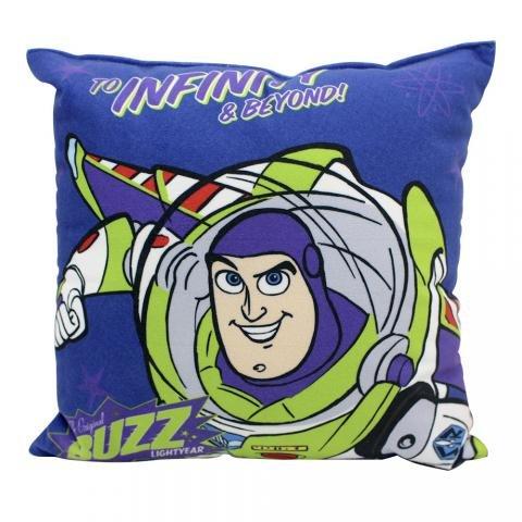 Almofada Fibra Veludo 25x25cm Toy Story Buzz - Zona Criativa