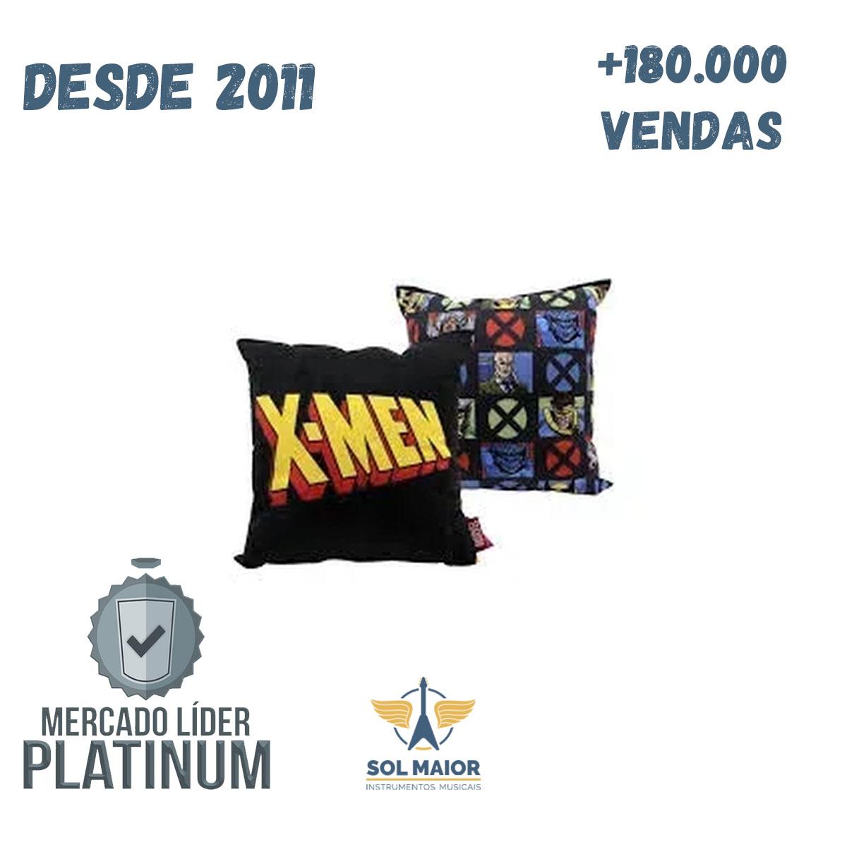 Almofada Fibra Veludo 25x25cm X Men Classic - Zona Criativa