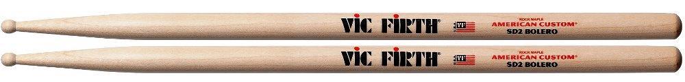 """Baqueta Vic Firth American Custom Maple SD2 Bolero """"Padrão 2B"""" (1270)"""