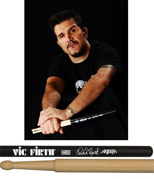 """Baqueta Vic Firth Signature Charlie Benante """"Padrão 5B"""" Mais Comprida (10264)"""