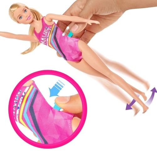 Barbie Nadadora Dreamhouse Adventures - Mattel