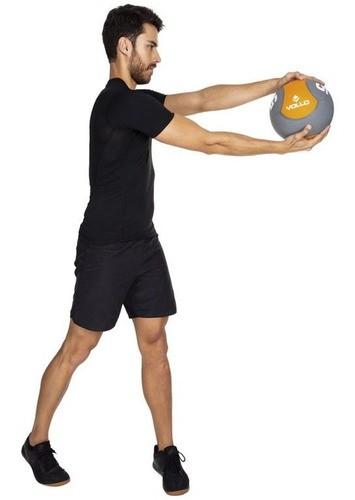 Bola De Peso Medicine Ball 4kg Para Exercícios Fitness Vollo