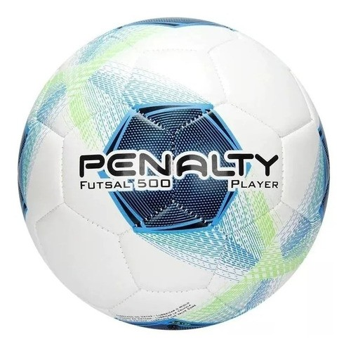 Bola Futsal Costura Penalty Player 500 - Bc/az - Original