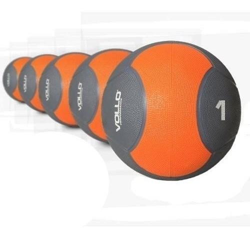 Bola Medicine Ball 1 Kg Peso De Borracha - Vollo