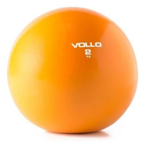 Bola Peso Tonificadora - Soft Ball Pilates Funcional - 2 Kg