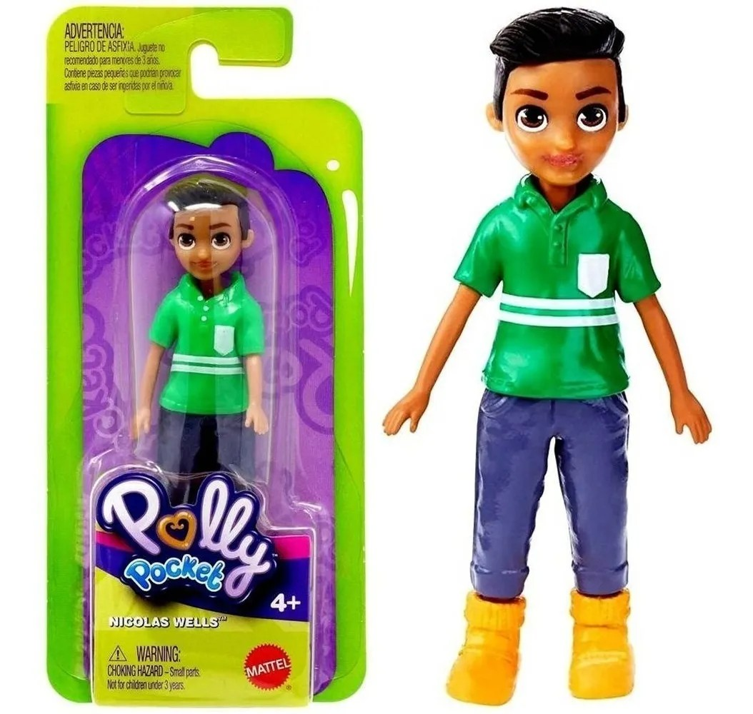 Boneca Básica Polly Pocket e amigos - Mattel FWY19