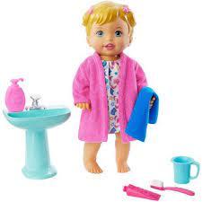 Boneca Little Mommy Hora de Dormir GLD76 - Mattel