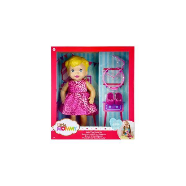 Boneca Little Mommy Vamos Brincar De Fantasiar - Gxt00
