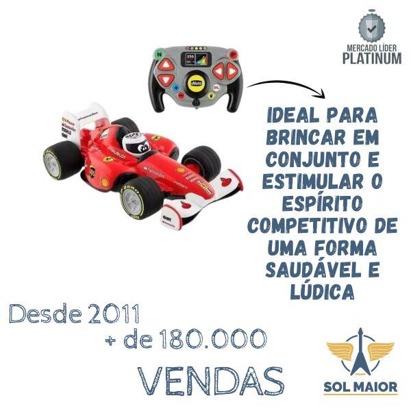 Brinquedo Carrinho Controle Remoto Chicco Ferrari Fórmula 1