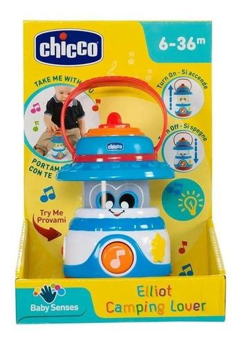 Brinquedo Elliot A Lamparina Alegre Com Luzes E Sons Chicco