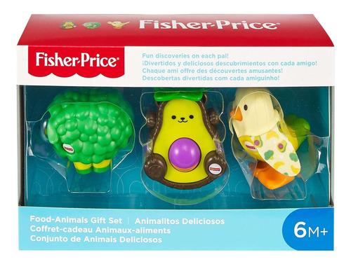 Brinquedo Fisher Price Conjunto 3 Animais Deliciosos GNL81