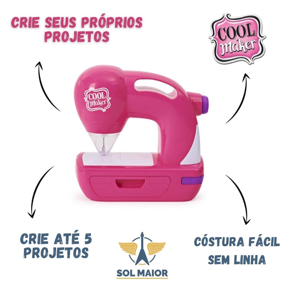 Brinquedo Máquina De Costura Infantil - Cool Maker Sew Cool