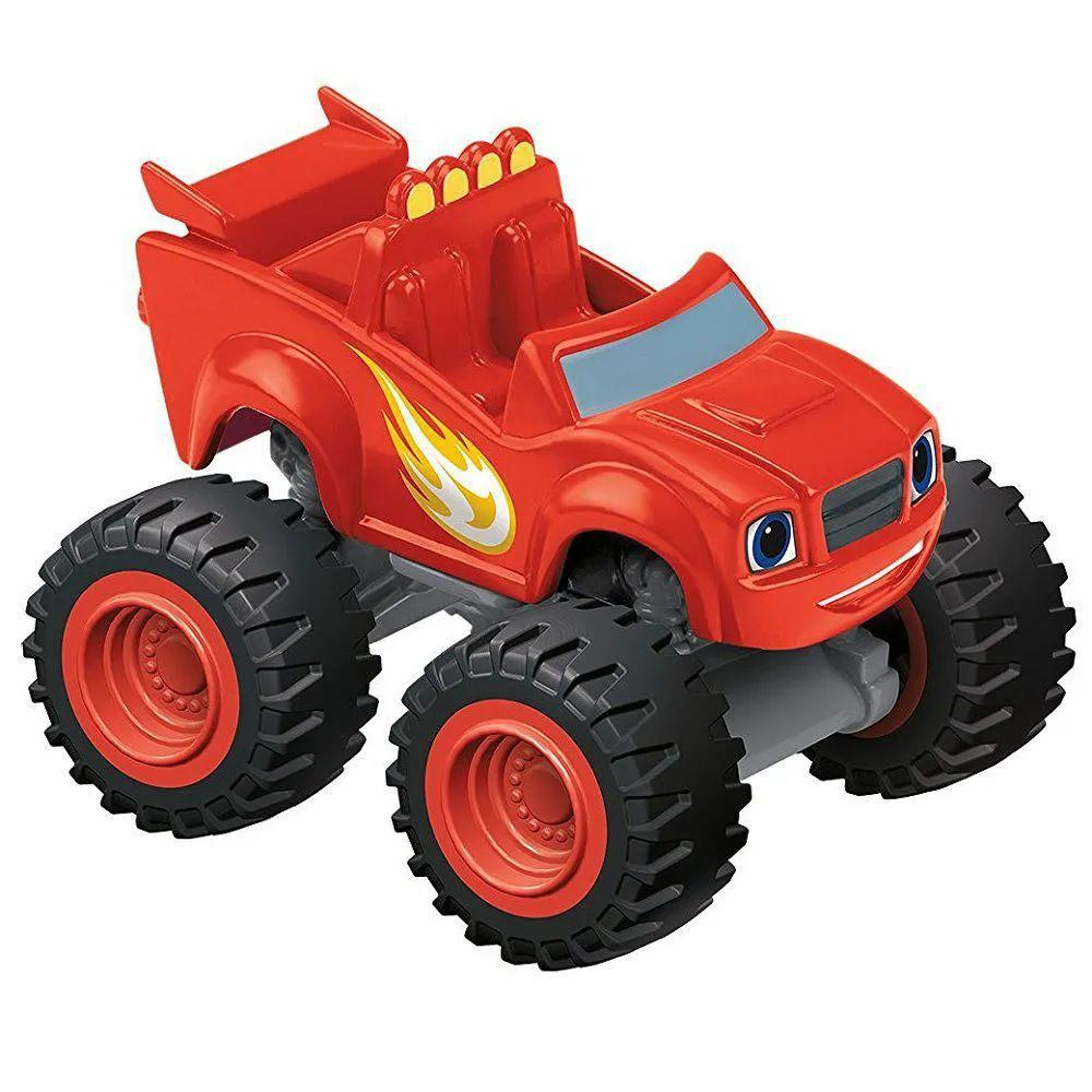Brinquedo Miniatura Veiculo Básicos Blaze and Crush - Mattel